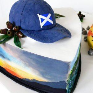 Торт кепка
