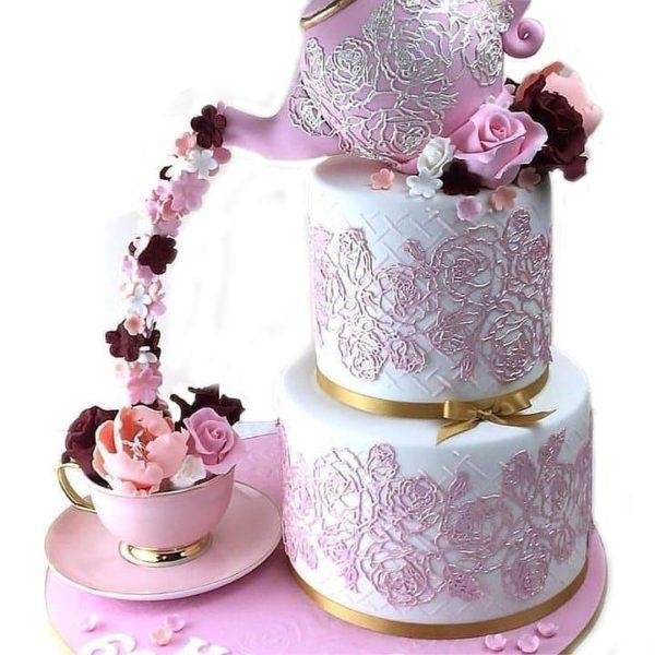 Торт чаепитие