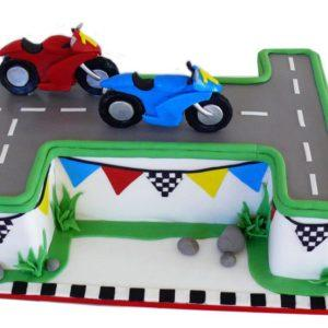 Торт мотоциклы
