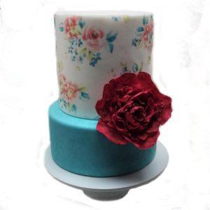 Торт цветок