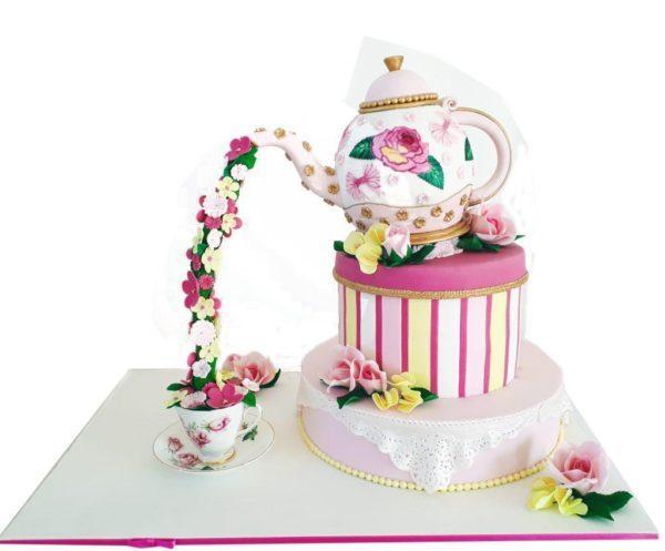 Торт самовар